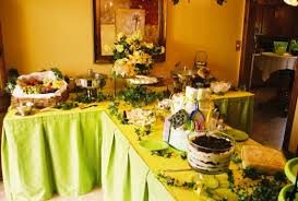 baby shower buffet table decorations set up hubpages