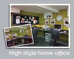 Basement Office Design Ideas Modern Basement Office