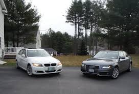 2009 audi a4 vs bmw 3 series 2011 bmw 328i xdrive vs 2012 audi a4 2 0t quattro comparison