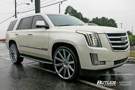 cadillac escalade 2017 custom cadillac escalade with 26in dub shot calla wheels exclusively from