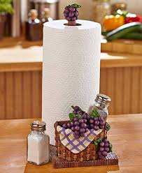 themed paper towel holder grape and apples paper towel holder salt and pepper shakers new