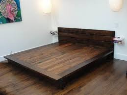 How To Build A Simple King Size Platform Bed by Best 25 Diy Bed Frame Ideas On Pinterest Pallet Platform Bed