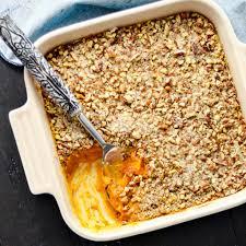 sweet potato thanksgiving dish healthy sweet potato casserole paleo vegan u0026 sugar free