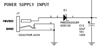 dc power supply jack connector pinout electrical engineering