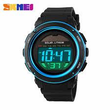 skmei jam tangan tenaga solar dg1096 elevenia