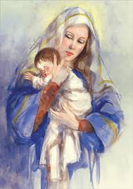 with baby jesus helen kunic religious card by lpg