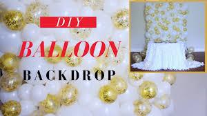 wedding backdrop tutorial balloon backdrop tutorial wedding backdrop diy