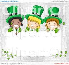 royalty free vector clip art illustration of st patricks day