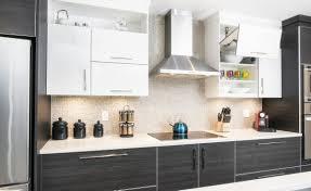 armoires de cuisine qu饕ec cuisine contemporaine vol de nuit armoires de cuisines québec