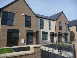 contemporary pitched roof housing development google search