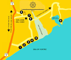 san jose cabo map hotels san jose cabo hotels and resorts where to stay san jose