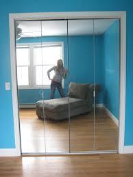 stanley mirrored closet doors track
