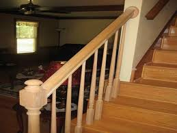 Install Banister Deck Stair Railing Installation Stylish Deck Stair Railing