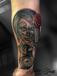 tattoo ideas zombie 20 best zombie day of the dead tattoos images on pinterest day of