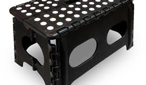stool gripping black folding stool target charm folding step