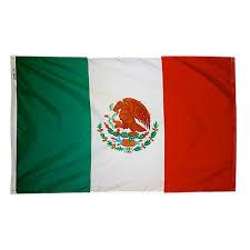 Mexican Flag Stencil Latin America 3x5 U0027 S Poly Flags