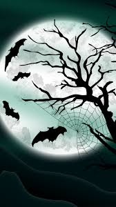 bright halloween background halloween witch flying broom over moon