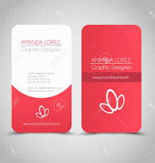 business card design set template for company corporate style
