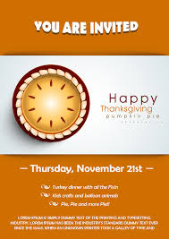 23 free thanksgiving flyers psd word templates demplates