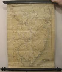 New Jersey On A Map Of The Usa by Antique Maps Of New Jersey