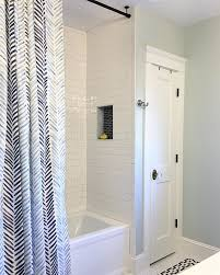Where To Hang Curtain Rods Best 25 Shower Curtain Rods Ideas On Pinterest Farmhouse Shower