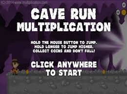 what is multiplication cave run multiplication free math multiplication
