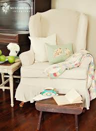 Wingback Chair Slipcover Pattern 76 Best Slipcover Images On Pinterest Slipcovers Chairs And Home