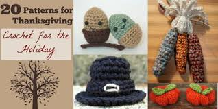 200 fall crafts and thanksgiving crochet patterns