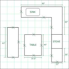 kitchen furniture plans kitchen excellent kitchen floor plans with dimensions granite