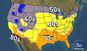 us weather map for april brian b s climate u s high temperature categories