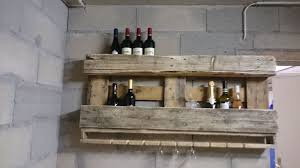 pallet wine rack 9 steps with pictures