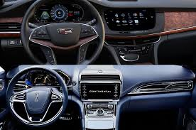 lincoln mks vs cadillac xts luxury cadillac ct6 vs lincoln continental concept