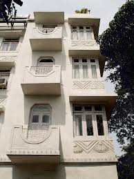 artdeco apartment building mumbai india art deco