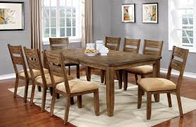 light oak finish casual dining room table w optional chairs heds