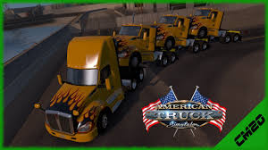 kenworth tractor trailer american truck simulator kenworth tractor trailer youtube