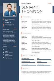illustrator resume templates 40 best 2018 s creative resume cv templates printable doc