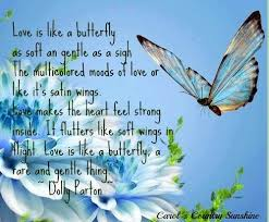 is like a butterfly dolly parton quote via carol s country