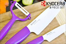 kyocera kitchen knives scoopon kyocera 3 advanced ceramic knife set delivered