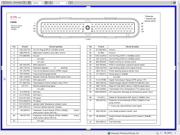 Wiring Diagram For 2002 Mercury Grand Marquis 2003 Pcm Pinout 4 6l Based Powertrains Crownvic Net