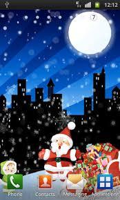 christmas santa live wallpaper free app download android freeware