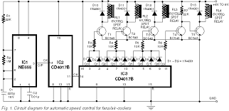 automatic speed controller for fans u0026 coolers electronics