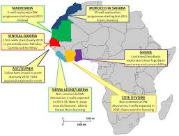 Gambia Africa Map by Geo Expro Keep Your Eye On Nwaam