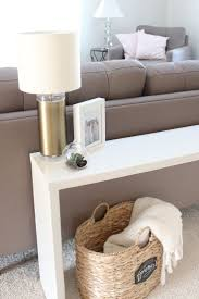 Rustic Wooden Couch Best 25 Table Behind Couch Ideas On Pinterest Behind Sofa Table