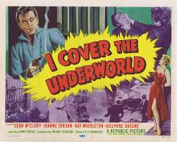 underworld film noir i cover the underworld title lobby card michael redgrave film noir