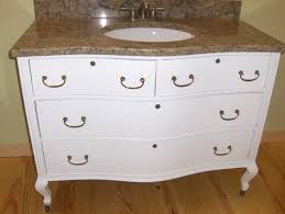 Antique Dresser Vanity Bathroom The Most Turn A Vintage Dresser Into Vanity Hgtv Within