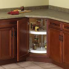 Kitchen Cabinet Lazy Susan Hardware Knape U0026 Vogt 32 In H X 24 In W X 24 In D 2 Shelf Full Round