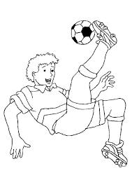 dessin à colorier d u0027un garçon faisant un retourné acrobatique avec