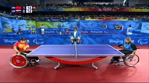 Table Tennis Para Table Tennis At The London 2012 Paralympic Games Youtube