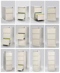 3 Drawer Vertical Filing Cabinet by Standard Size H1023 W460 D620mm 3 Drawer Mobile Pedestal Cabinet