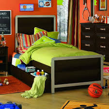 bedroom amazing boys bedroom ideas with dark bed furniture set